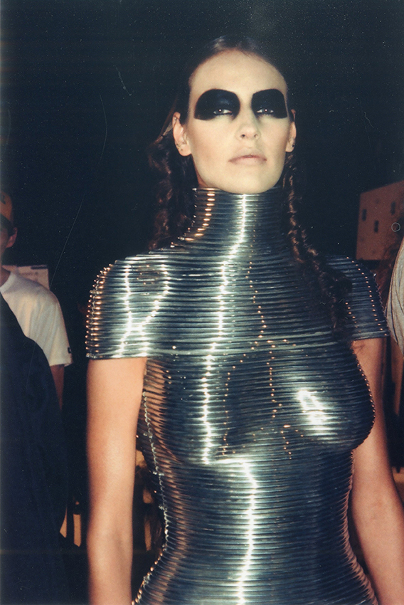 Aluminium Coiled Corset by Shaun Leane for Alexander McQueen, The Overlook, AW99