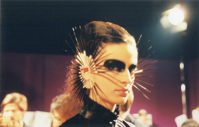 Silver and Porcupine Quill Ear Cuffs, Shaun Leane for Alexander McQueen, Irere, SS03