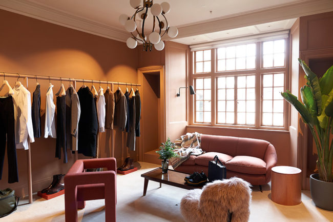 Private shopping suite