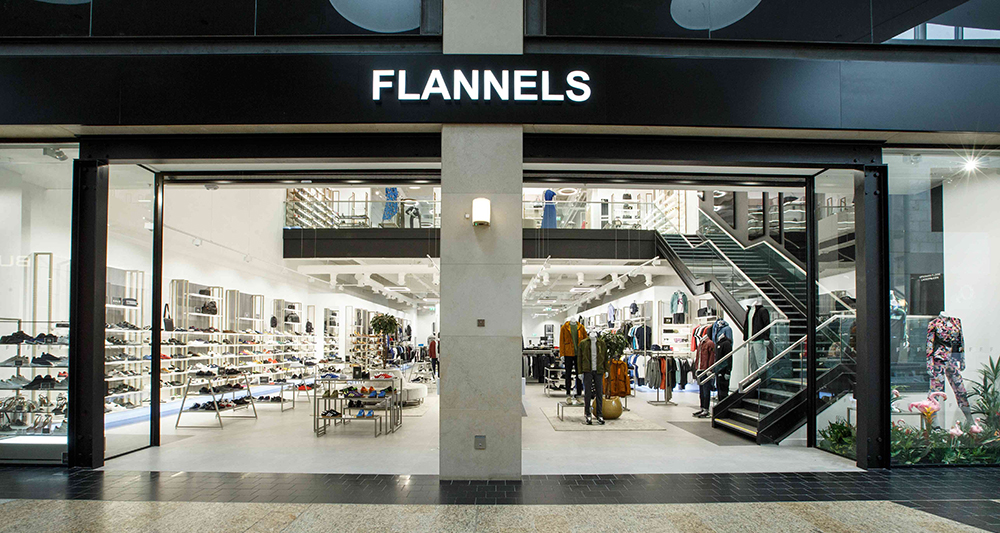 Flannels in Silverburn, Glasgow