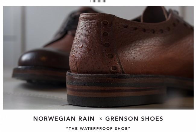 Norwegian Rain x Grenson