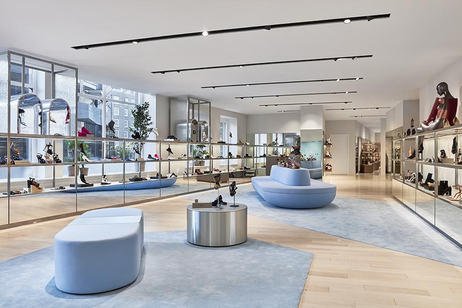 Harvey Nichols' new womenswear floor in Knightsbridge