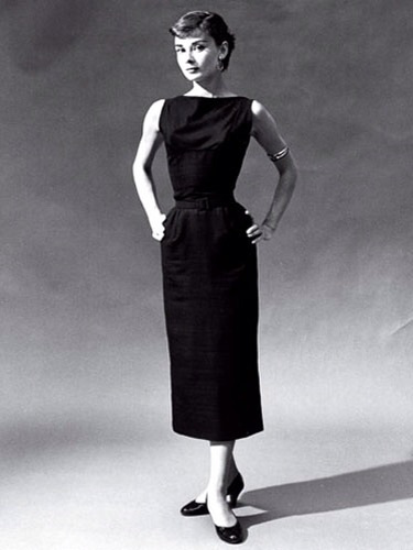 Hepburn in Givenchy
