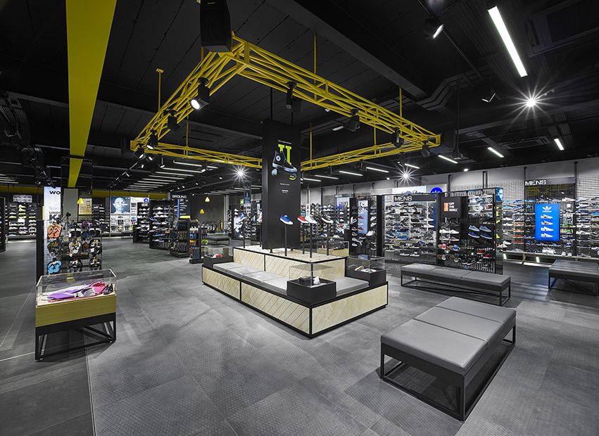 JD Sports' new fit-out in Newcastle