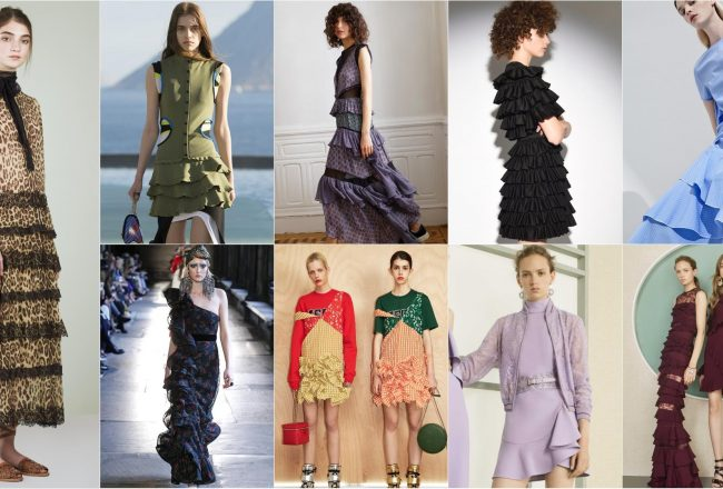 Ruffles Dresses