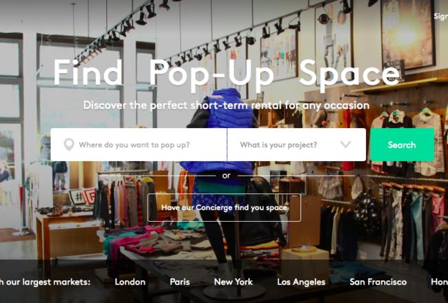 Storefront Pop-up
