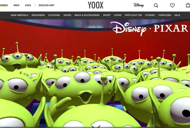 Yoox Disney