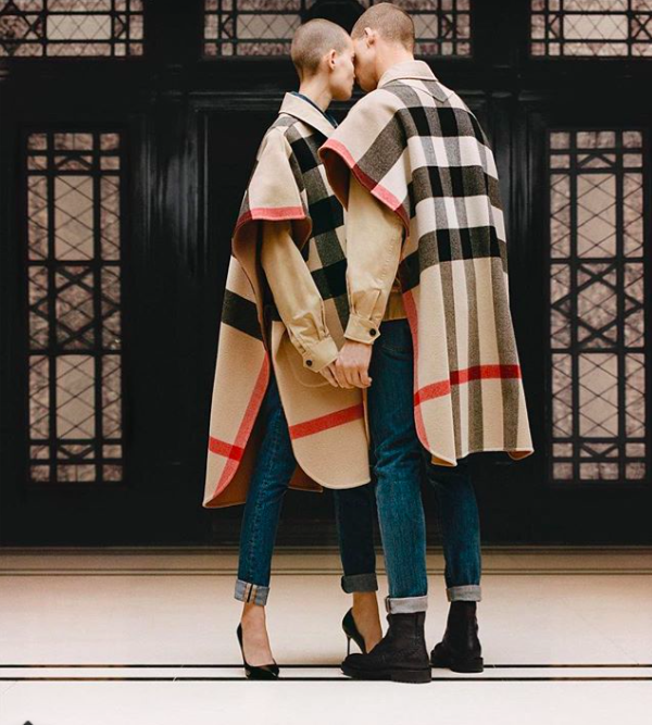 A preview of Riccardo Tisci's first Burberry designs